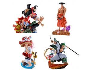 One Piece Log Box Trading Figura 8 Cm Re: Birth Wanokuni Vol. 3 Assortment (4) Megahouse