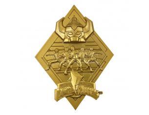 Power Rangers Medallion Edizione Limitata (gold Plated) Fanattik