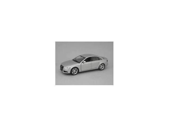 New Ray NY71076S AUDI A 4 2008 SILVER 1:24 Modellino SCATOLA ROVINATA