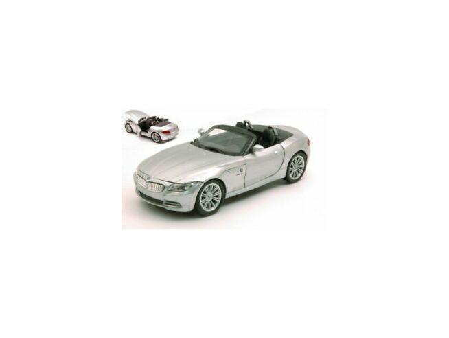 New Ray NY71186S BMW Z 4 SILVER 1:24 Modellino SCATOLA ROVINATA