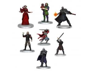 D&d Icons Of The Realms: Curse Of Strahd Pre-painted Miniatures Denizens Of Barovia Wizbambino