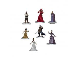 D&d Icons Of The Realms: Curse Of Strahd Pre-painted Miniatures Denizens Of Castle Ravenloft Wizbambino
