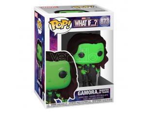 What If...? Funko Pop Marvel Vinile Figura Gamora, Figlia di Thanos 9 Cm