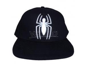 Marvel Comics Spider-man Berretto Curvo Logo Heroes Inc