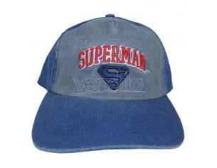 Dc Superman Berretto Curvo Collegiate Ext Heroes Inc