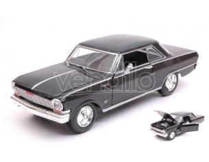 New Ray NY71823BK CHEVY NOVA 1964 BLACK 1:24 Modellino