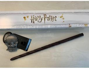 Harry Potter Bacchetta Magica Professoressa Sibilla Cooman + Piedistallo Noble Collection SCATOLA ROVINATA