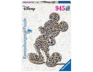 Disney Shaped Jigsaw Puzzle Mickey Mouse (945 Pieces) Ravensburger