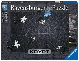 Krypt Jigsaw Puzzle Black (736 Pieces) Ravensburger