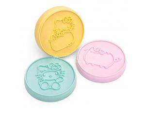 Pusheen Cookie Stamp Set Hello Kitty Thumbs Up