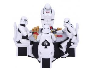 Star Wars Diorama Stormtrooper Poker Face 18 Cm Nemesis Now