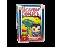 DC Action Comics Funko POP Comic Cover Vinile Figura Superman 9 cm SCATOLA ROVINATA
