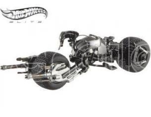 Hot Wheels HWX5496 BATPOD THE DARK KNIGHT TRILOGY 1:43 SCATOLA ROVINATA Modellino