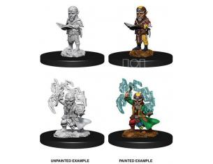 Pathfinder Battles Deep Cuts Unpainted Miniatures Male Gnome Sorcerer Case (6) Wizbambino