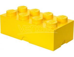 CONTENITORE LEGO BRICK 8 GIALLO GADGET