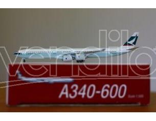 Herpa 507882 Cathay Pacific Airbus A340-600 1:500 Aereo Modellino