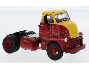 IXO MODEL TR081 GMC 950 COE 1954 RED/YELLOW 1:43 Modellino