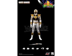 Mighty Morphin Power Rangers Figzero Action Figura 1/6 White Ranger 30 Cm Threezero