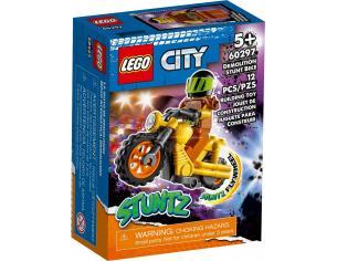 LEGO CITY 60297 - STUNT BIKE DA DEMOLIZIONE
