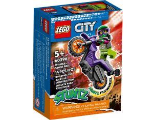 LEGO CITY 60296 - STUNT BIKE DA IMPENNATA