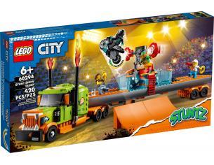 LEGO CITY 60294 - TRUCK DELLO STUNT SHOW