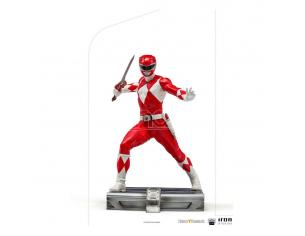 Power Rangers Bds Art Scale Statua 1/10 Red Ranger 17 Cm Iron Studios