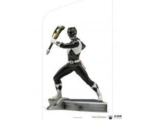 Power Rangers Bds Art Scale Statua 1/10 Black Ranger 17 Cm Iron Studios