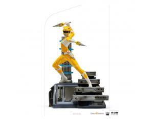 Power Rangers Bds Art Scale Statua 1/10 Yellow Ranger 19 Cm Iron Studios