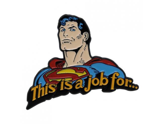 Dc Comics Spilla Badge Superman Edizione Limitata Fanattik