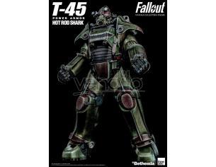 Fallout 1/6 T-45 Hot Rod Shark Armor Pack ThreeZero