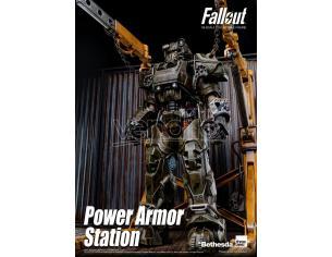Fallout 1/6 Power Armor Station 70 Cm ThreeZero