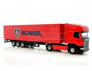 Joal 385 Scania R Topline con Trailer Modellino SCATOLA ROVINATA