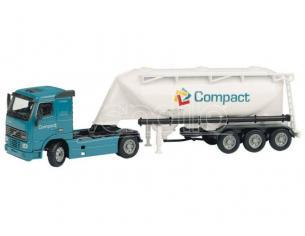 Joal 333 Camion Cisterna Di Cemento Volvo FH12 420 Modellino SCATOLA ROVINATA
