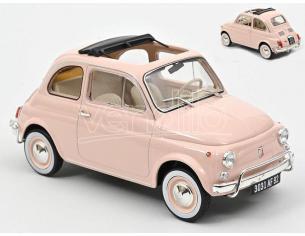 Norev Nv187774 Fiat 500 L 1968 Pink Con Special Birth Pack 1:18 Modellino