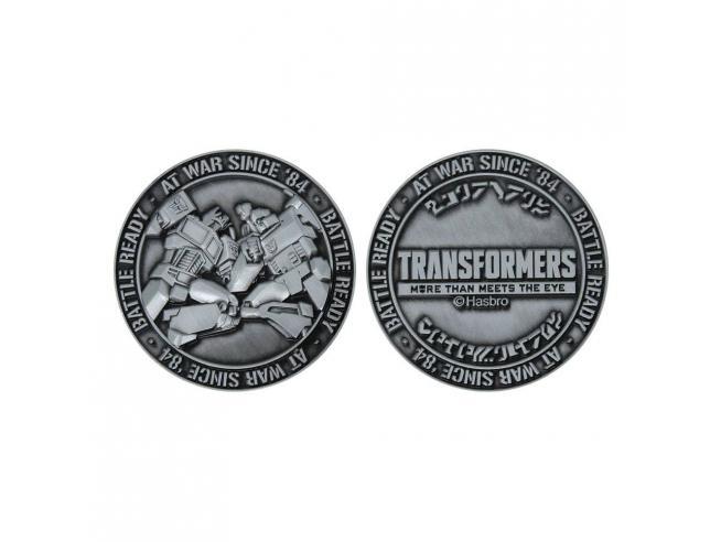 Transformers Collectable Coin Battle Ready Edizione Limitata Fanattik