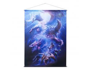 Monster Hunter World: Iceborne Wallscroll Monster Group 64 X 88 Cm Sakami Merchandise