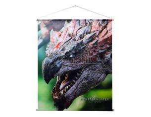 Monster Hunter: World Wallscroll Rathalos 69 X 84 Cm Sakami Merchandise