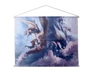 Monster Hunter: World Wallscroll Rathalos & Nergikante 80 X 60 Cm Sakami Merchandise