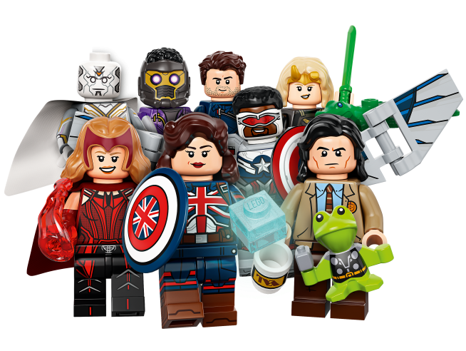 LEGO MINIFIGURES 71031 - MINIFIGURE SERIE MARVEL COMPLETA 12 PEZZI