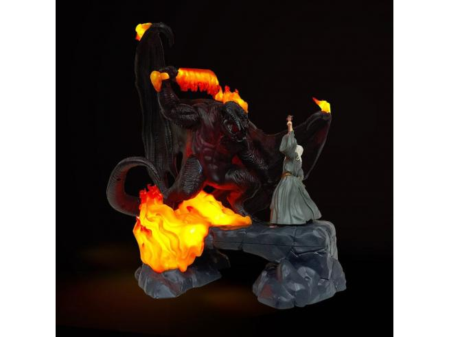 Il Signore Degli Anelli Luce a led USB Il Balrog contro Gandalf 41 Cm Paladone Products