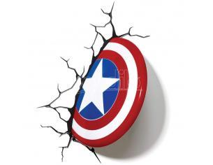 Marvel 3D LED Light Captain America Shield 3Dlight