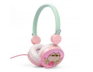 Pusheen Headphones Tech Thumbs Up