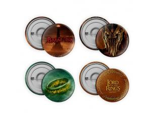 Il Signore Degli Anelli Pin-back Buttons 4-pack Collection Sd Toys