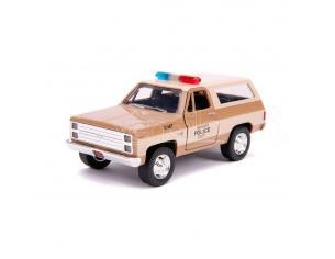 Stranger Things Hollywood Rides Diecast Model 1/32 1980 Chevy K5 Blazer Jada Toys
