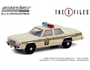 X-Files Diecast Model 1/64 1983 Ford LTD Crown Victoria Lardis MD Police Greenlight Collectibles
