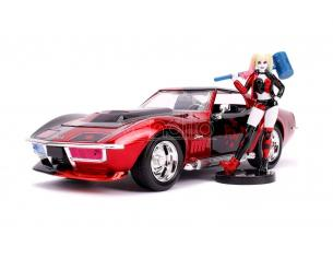 Dc Comics Diecast Model 1/24 1969 Chevy Corvette Stingray Con Figura Jada Toys