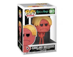 Rick E Morty Pop! Animation Vinile Figura Kirkland Meeseeks 9 Cm Funko