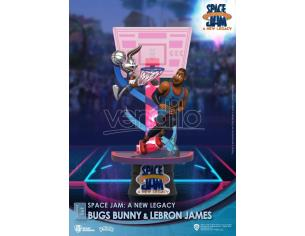 Space Jam: A New Legacy D-Stage PVC Diorama Bugs Bunny & Lebron James New Version 15 Cm Beast Kingdom Toys