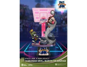 Space Jam: A New Legacy D-Stage PVC Diorama Tasmanian Devil & Marvin The Martian New Version 15 Cm Beast Kingdom Toys