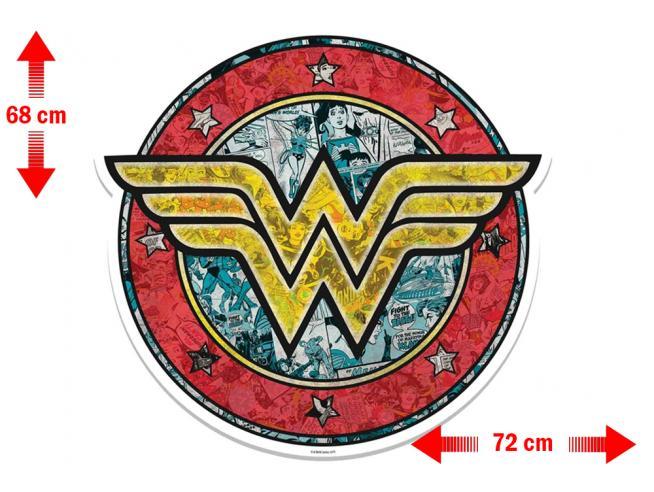 WONDER WOMAN SHIELD WALL MOUNTED CUT OUT Sagomato Da Muro STAR